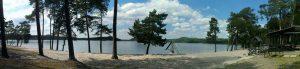 okolí 3 jezero